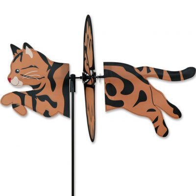 Classic Tabby Garden Wind Spinner