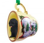 Cockapoo Ornament Teacup Black