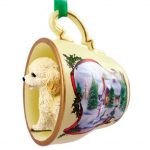 Cockapoo Ornament Teacup Blonde