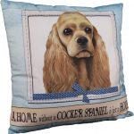 Cocker Spaniel Pillow 16×16 Polyester 1