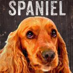 Cocker Spaniel Sign – I Love My 5×10 1