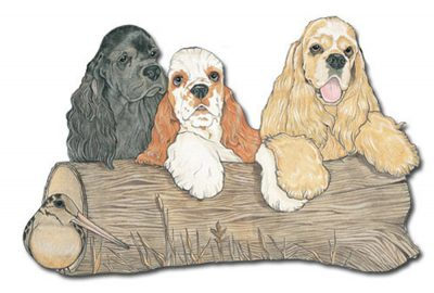 cocker-spaniel-wood-magnet