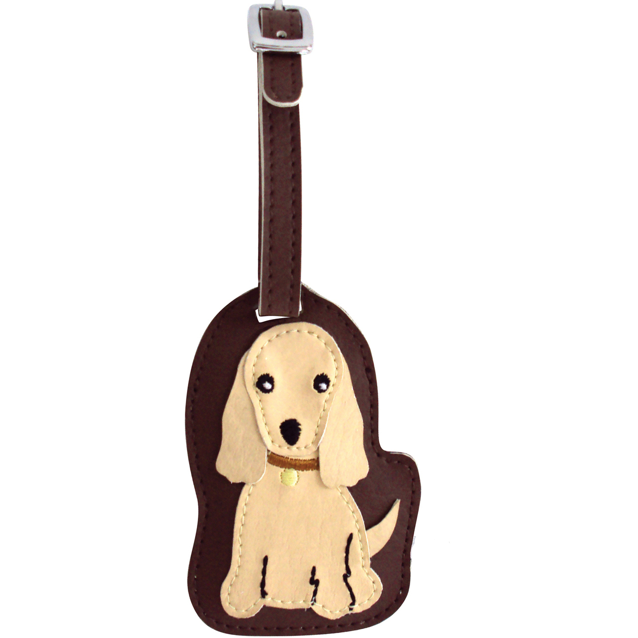 Cocker Spaniel Dog Luggage Tag Briefcase Gym Backpack Travel ID