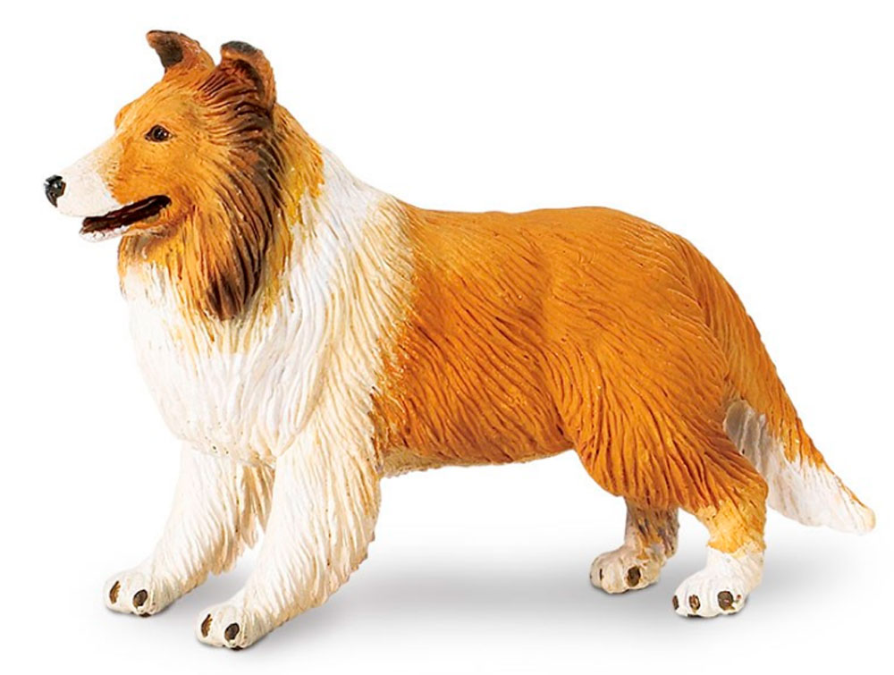 Collie Figurine Toy