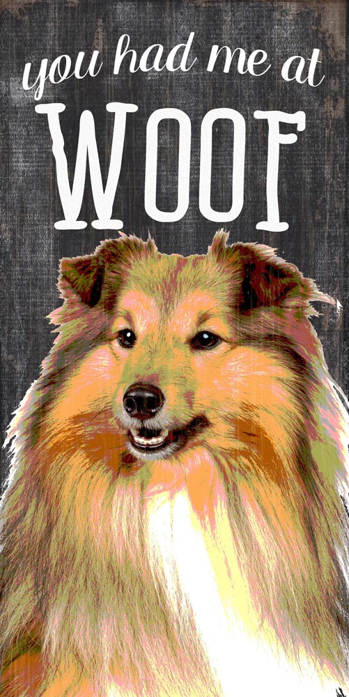 Collie Sign - You Had me at WOOF 5x10