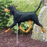 Coonhound Outdoor Garden Sign
