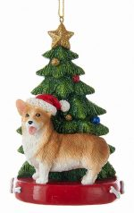 Corgi Christmas Tree Ornament Pembroke