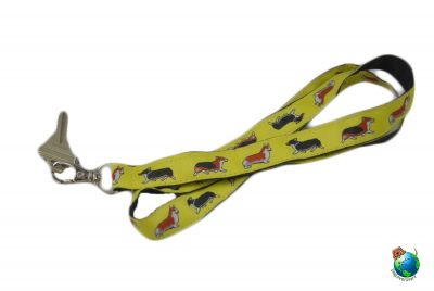 Welsh Corgi Lanyard Key Holder Badge Holder 1