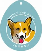 Corgi Sticker 4x4""