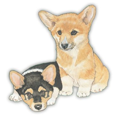 corgi-wood-magnet
