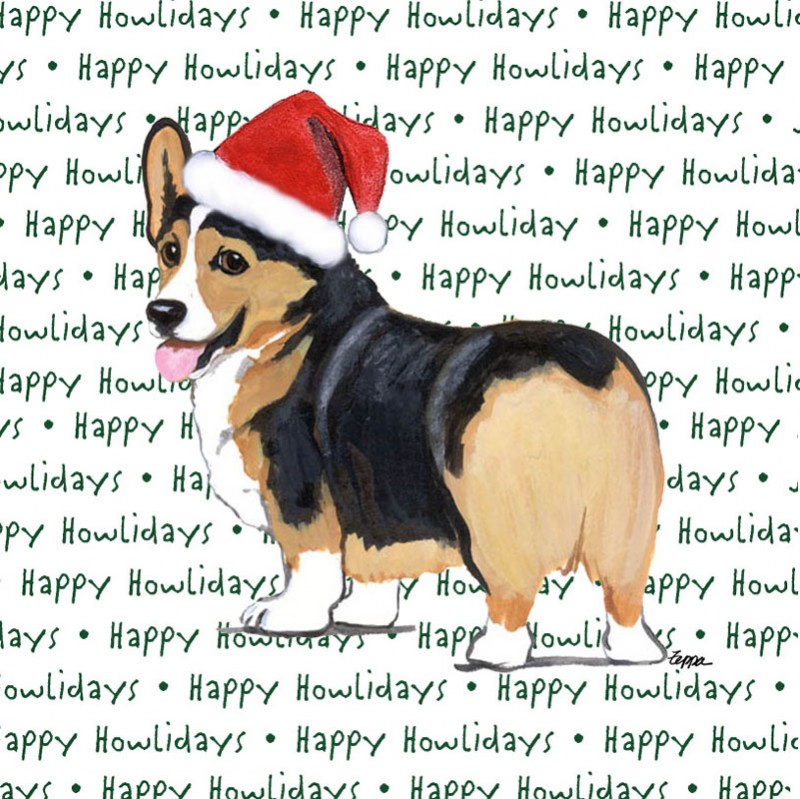 corgi_tri_christmas_dog_coasters