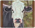 Cow Kitchen Cutting Board Black