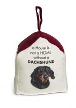 Dachshund Door Stopper 5 X 6 In. 2 lbs. - A House is Not a Home
