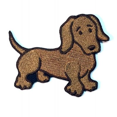 dachshund-iron-on-embroidered-patch