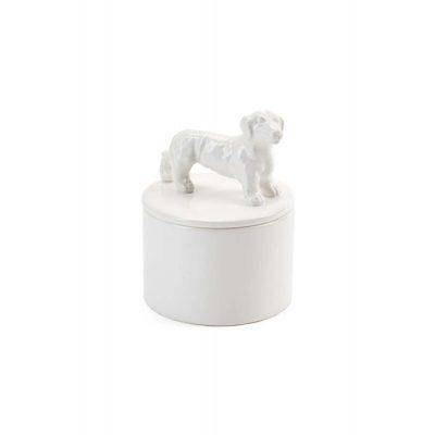 Dachshund Jewelry Box Porcelain 1