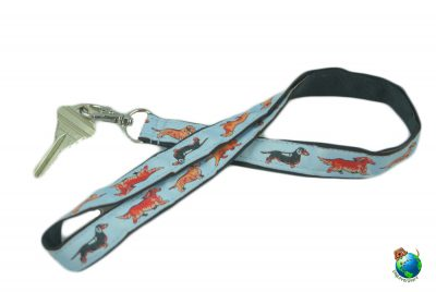 Dachshund Lanyard Key Holder Badge Holder 1