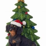 Dachshund Christmas Tree Ornament 1