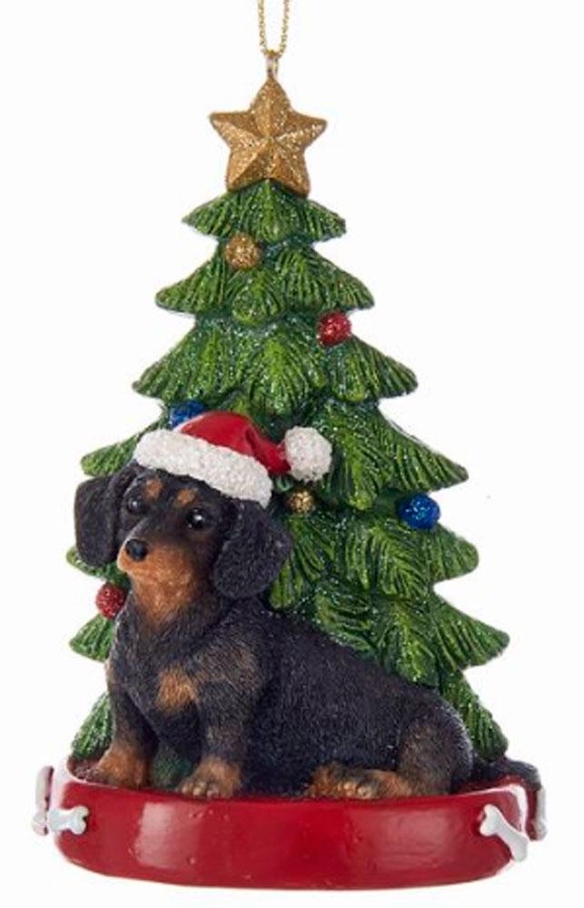 Dachshund Christmas Tree Ornament