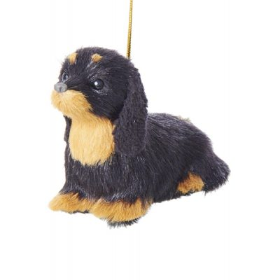Dachshund Plush Ornament 4 Inches 1