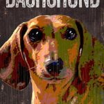 Dachshund Sign – I Love My 5×10 1