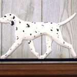 dalmatian-dog-figurine-plaque-black