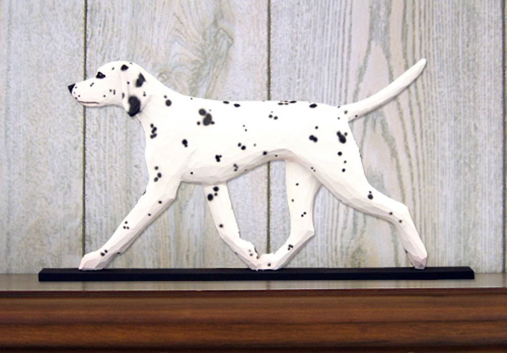dalmatian-dog-figurine-plaque-black