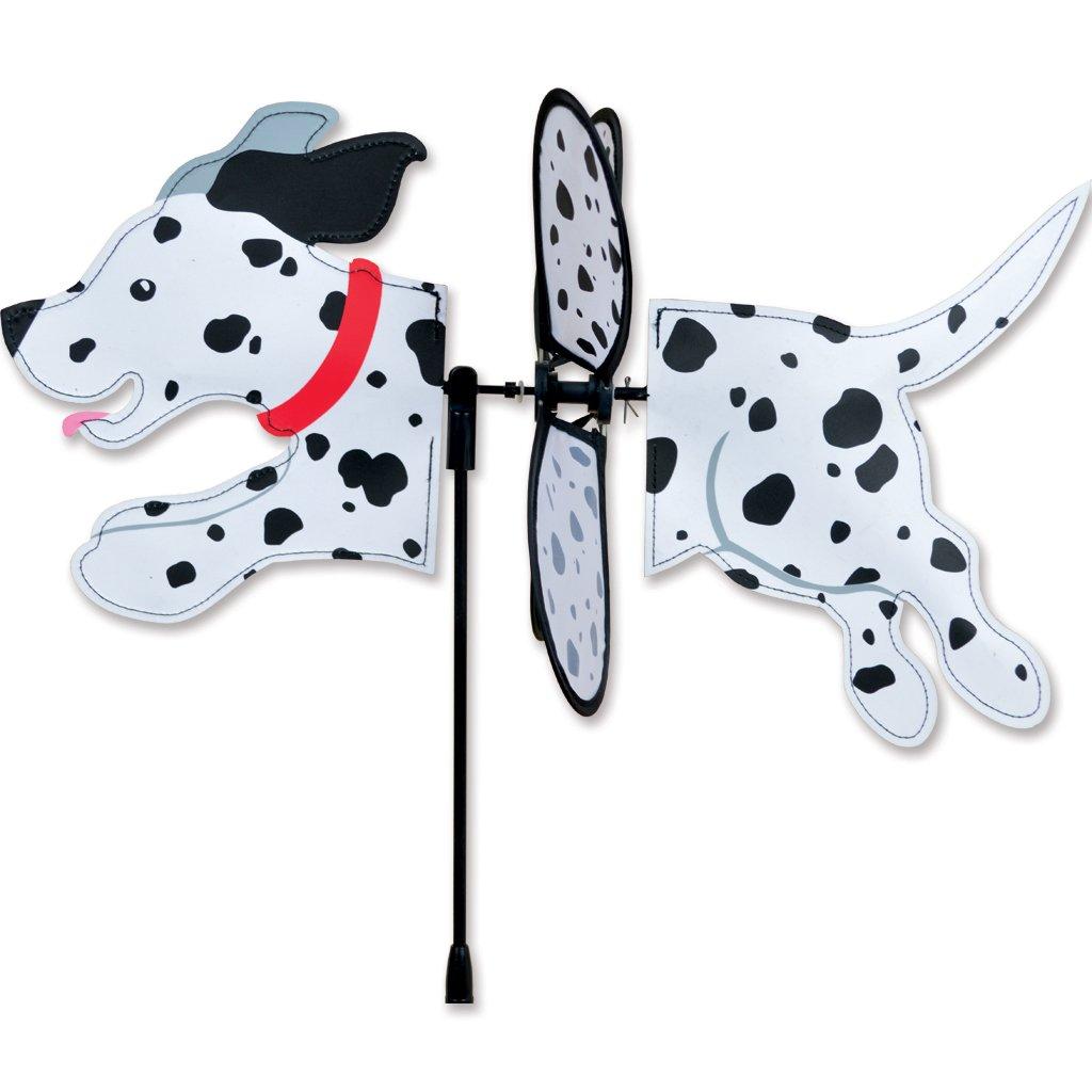 Dalmatian Garden Wind Spinner