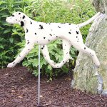 dalmatian-outdoor-figurine-garden-sign-blk