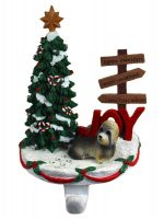 Dandie Dinmont Stocking Holder Hanger