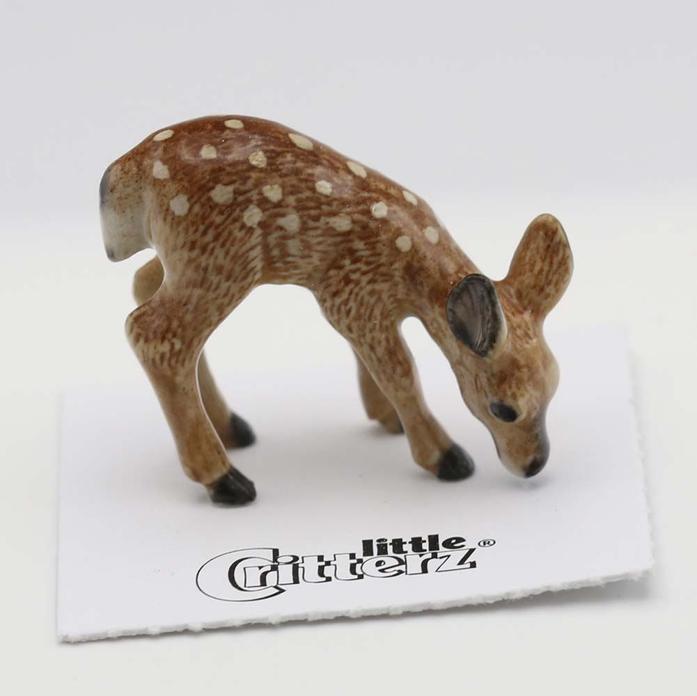 Deer Porcelain Figurine