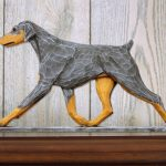 doberman-pinscher-figurine-plaque-blue-tan-uncropped