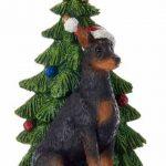 Doberman Pinscher Christmas Tree Ornament 1