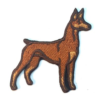 doberman-pinshcer-patch-red