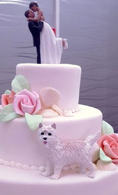 Molly - Dog Cake Topper