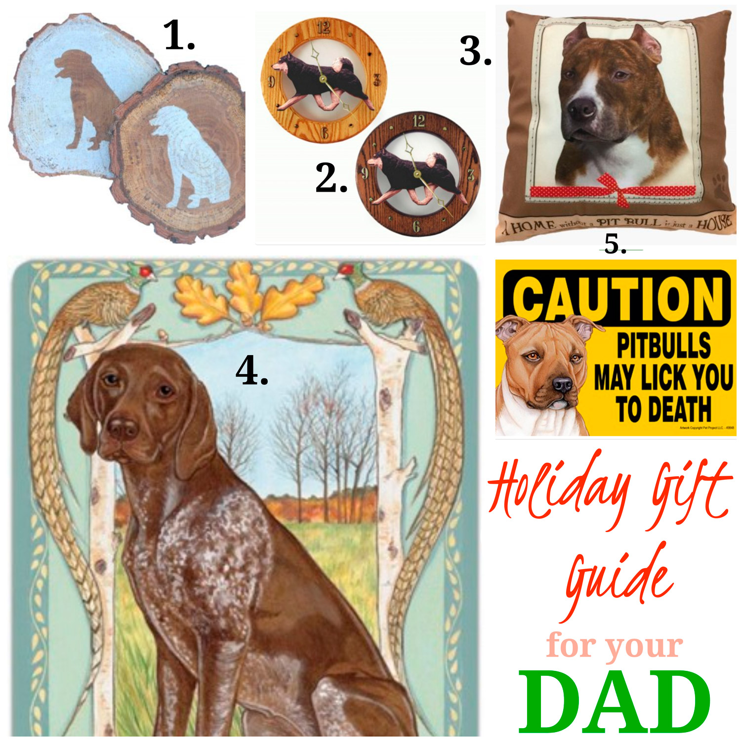 Dog Gift Ideas for Dad