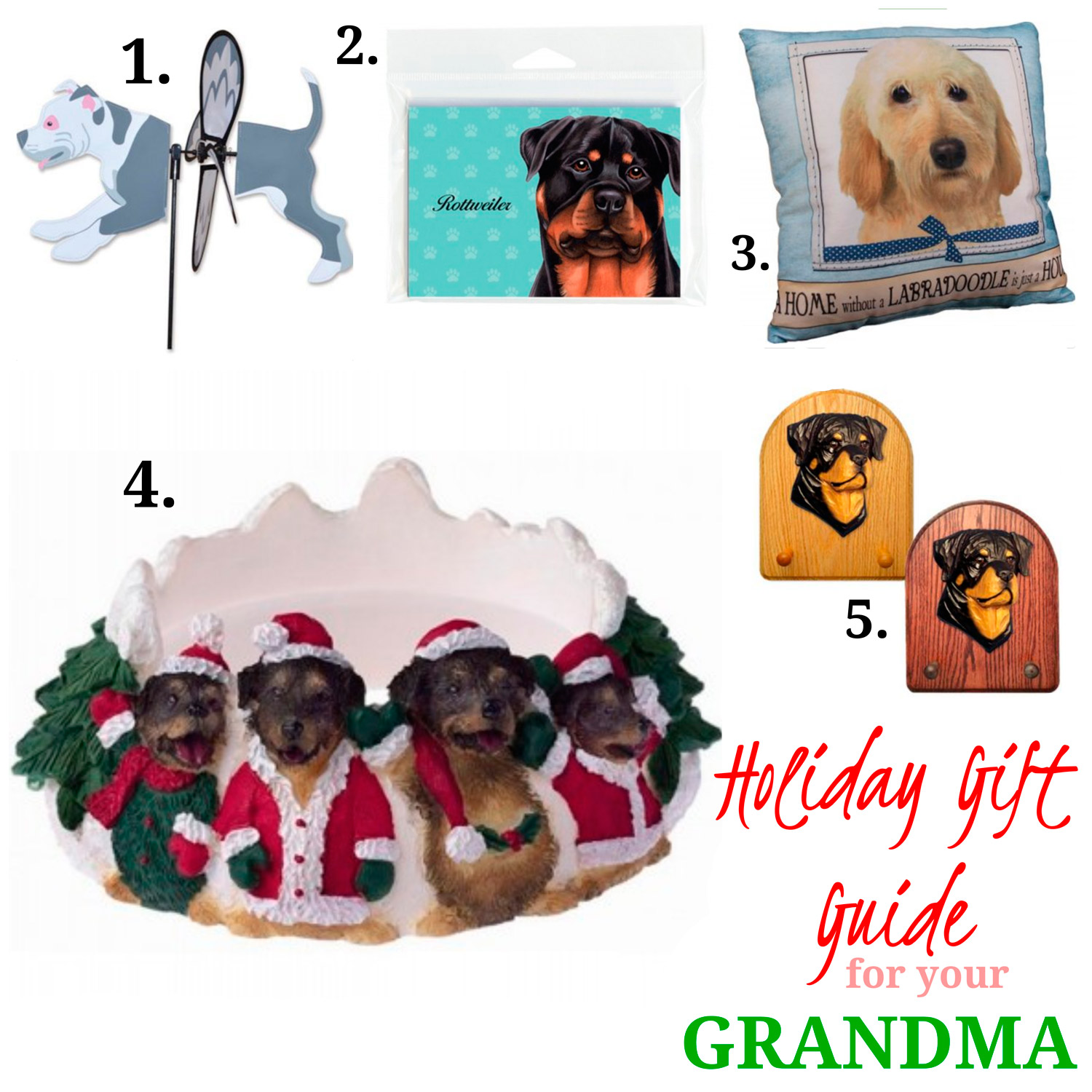 Dog Gift Ideas for Grandma