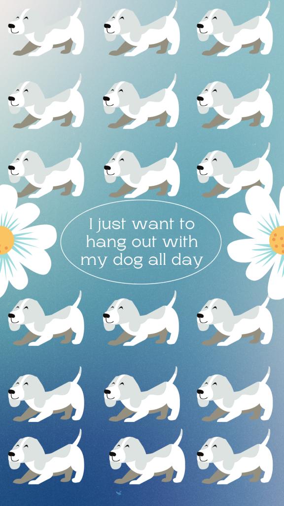 Dog Lover Phone Wallpaper