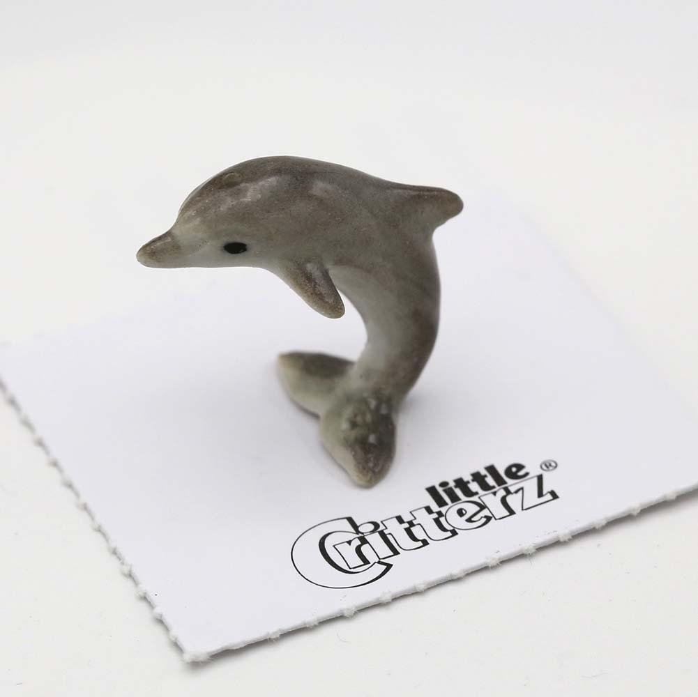 Dolphin Porcelain Figurine