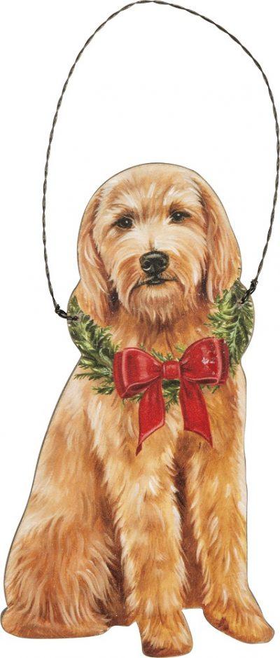Doodle Bow Ornament