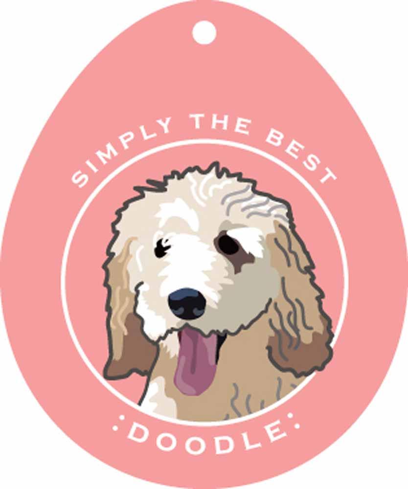 "Labradoodle Sticker 4x4"""