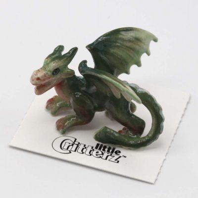 Dragon Porcelain Figurine