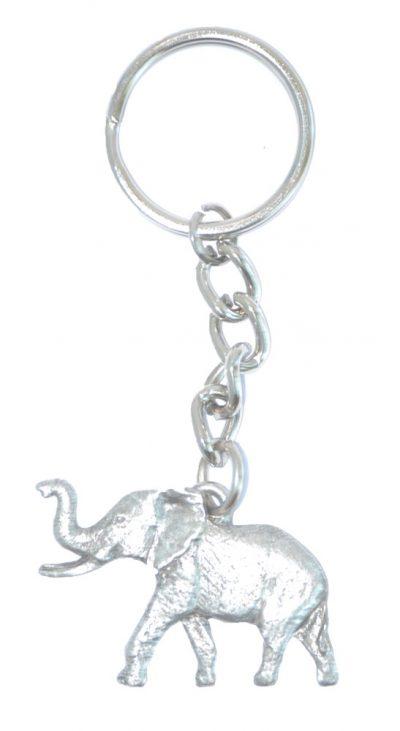 elephant-keychain-pewter