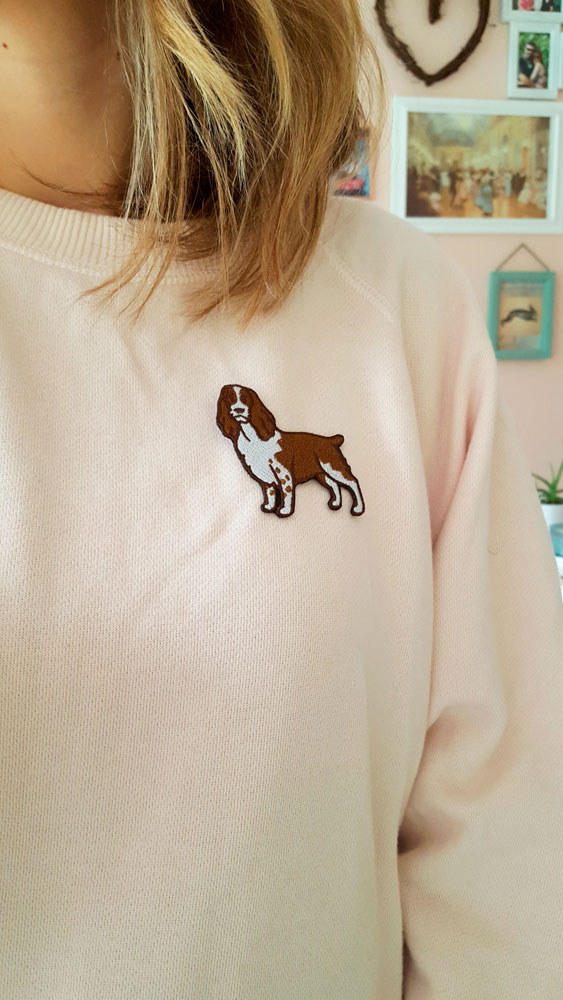 Dog Patch on Shirt