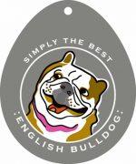 """English Bulldog Sticker 4x4"""""""