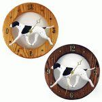 english-pointer-clock-black