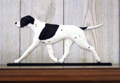 english-pointer-figurine-plaque-black-white