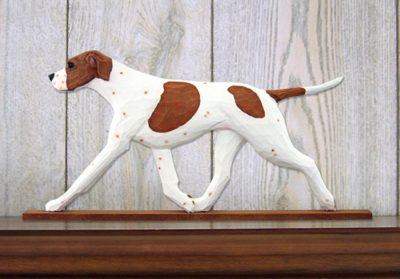 english-pointer-figurine-plaque-orange-white