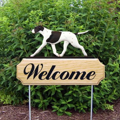 english-pointer-welcome-sign-liver-white