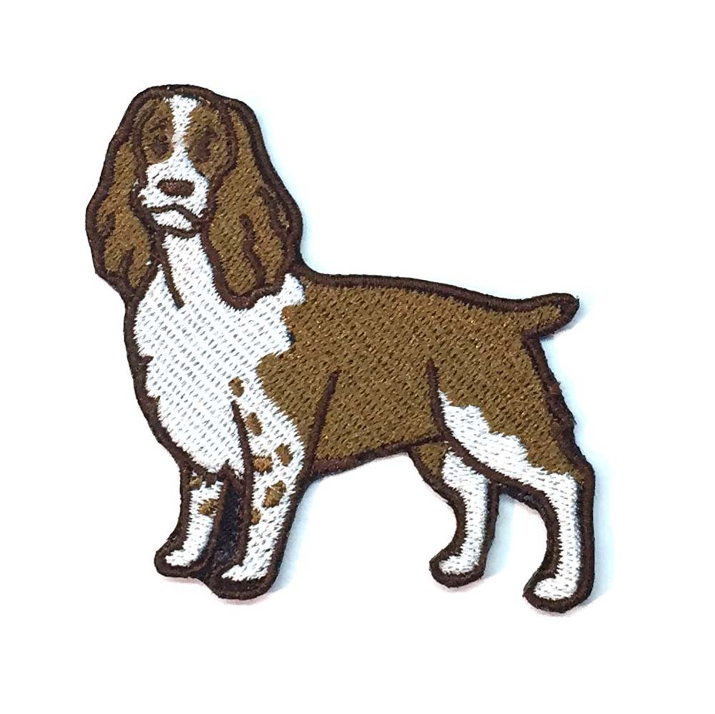 English Springer Spaniel Iron on Embroidered Patch