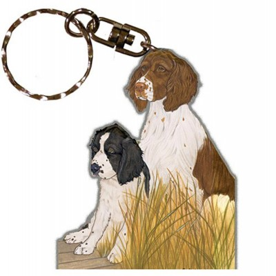 english-springer-spaniel-keychain